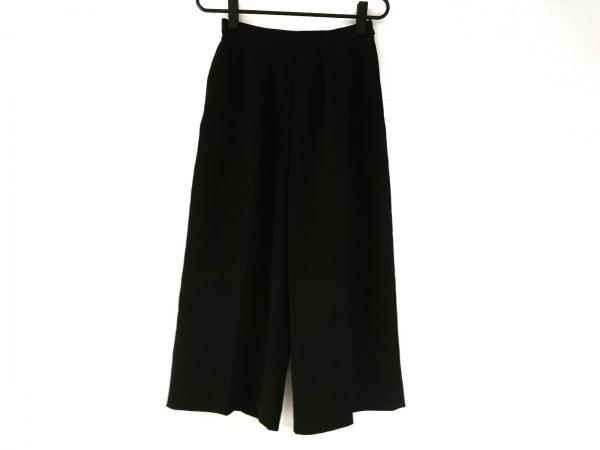 TARO HORIUCHI(タロウホリウチ) パンツ サイズ2 M レディース 黒 ガウチョパンツ