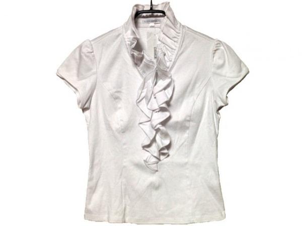 NARACAMICIE(ナラカミーチェ) 半袖カットソー サイズ0 XS レディース美品  白 フリル