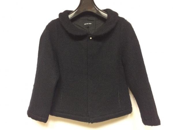 pas de calais(パドカレ) コート サイズ38 M レディース美品  黒 冬物/ショート丈