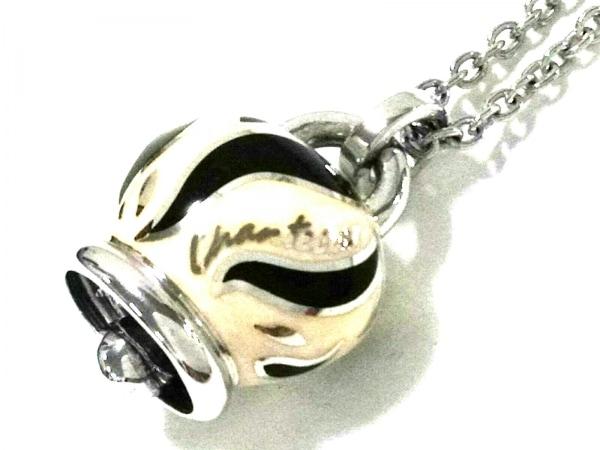 chantecler(シャンテクレール) ネックレス美品  シルバー 黒