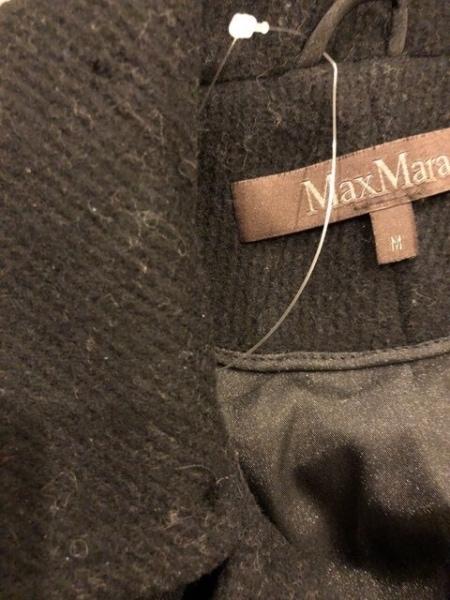 Max Mara(マックスマーラ) コート サイズM レディース 黒 冬物