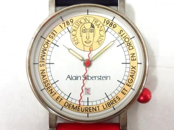 シルベスタイン 腕時計 マリアンヌ - レディース 革ベルト/フランス革命200周年記念