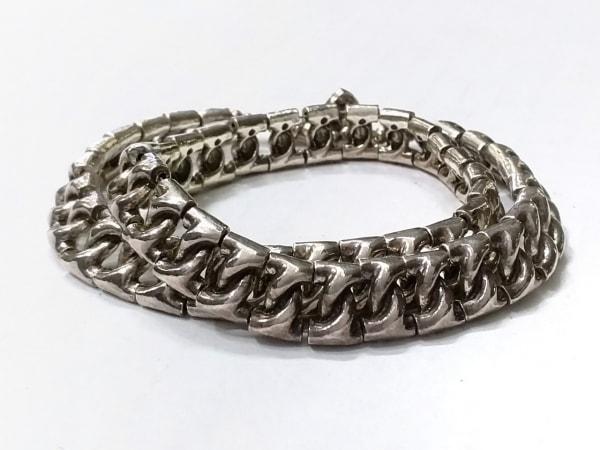 フィリップオーディベール ブレスレット 金属素材 シルバー チェーン