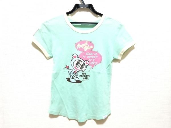 エンジェルブルー 半袖Tシャツ サイズL レディース美品  子供服/ラインストーン