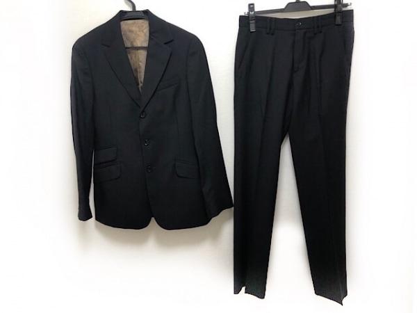 D&G(ディーアンドジー) シングルスーツ サイズ30/40 メンズ新品同様  黒 肩パッド