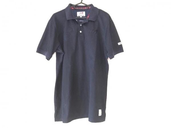 PsychoBunny(サイコバニー) 半袖ポロシャツ サイズ7 メンズ ネイビー
