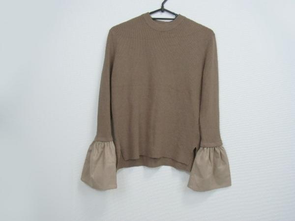 ELENDEEK(エレンディーク) 長袖セーター サイズ00 XS レディース美品  ダークブラウン