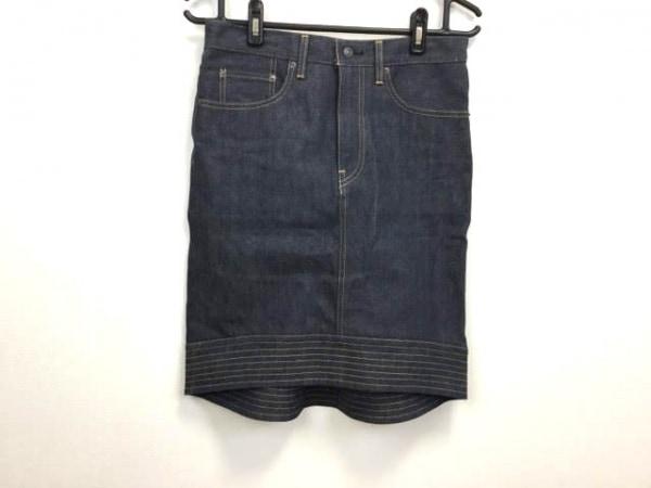 SCYE(サイ) スカート サイズ36 S レディース美品  ネイビー デニム
