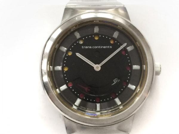 TRANS CONTINENTS(トランスコンチネンス) 腕時計 F325-T002862 レディース 黒