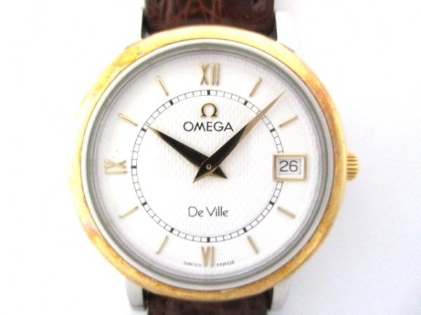 OMEGA(オメガ) 腕時計 デビル - レディース 白