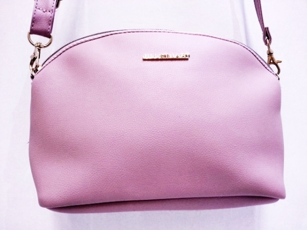 JILL STUART(ジルスチュアート) ショルダーバッグ美品  ピンク 合皮