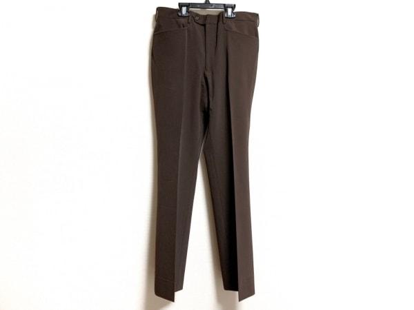 PRADA(プラダ) パンツ サイズ46 L レディース美品  ダークブラウン
