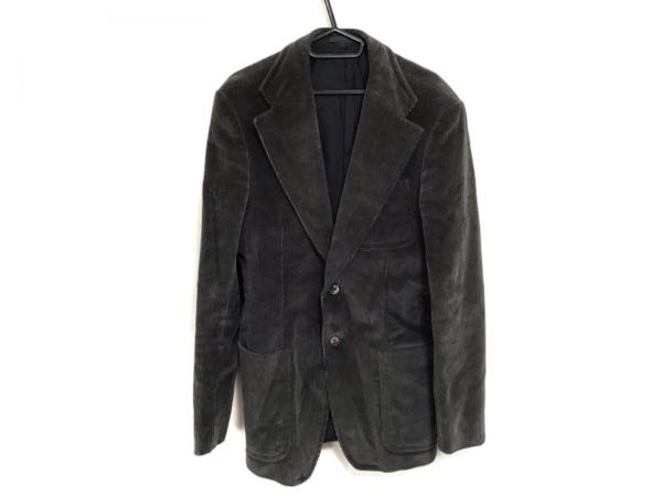 GUCCI(グッチ) ジャケット サイズ46R メンズ グレー コーデュロイ