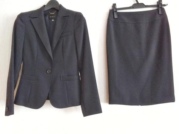 【中古】 ボッシュ BOSCH スカートスーツ レディース 黒