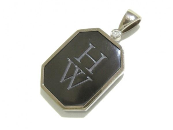 HARRY WINSTON(ハリーウィンストン) ペンダントトップ新品同様  ザリウム・HWロゴ
