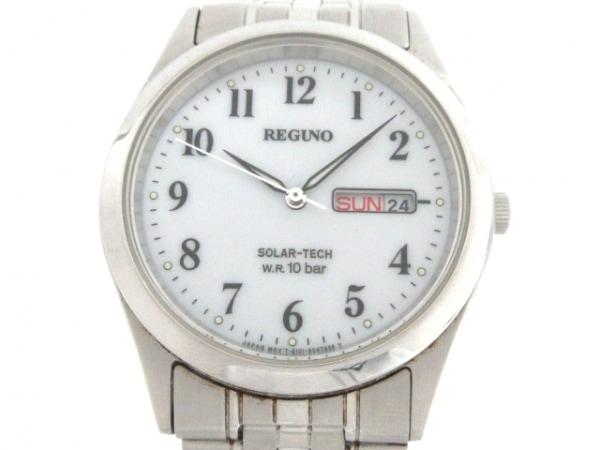 REGUNO(レグノ) 腕時計 E101-S028221 メンズ 白
