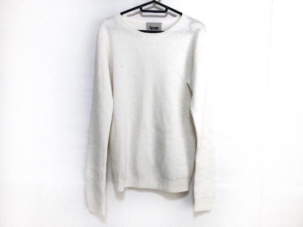 Acne(アクネ) 長袖セーター サイズXS レディース 白