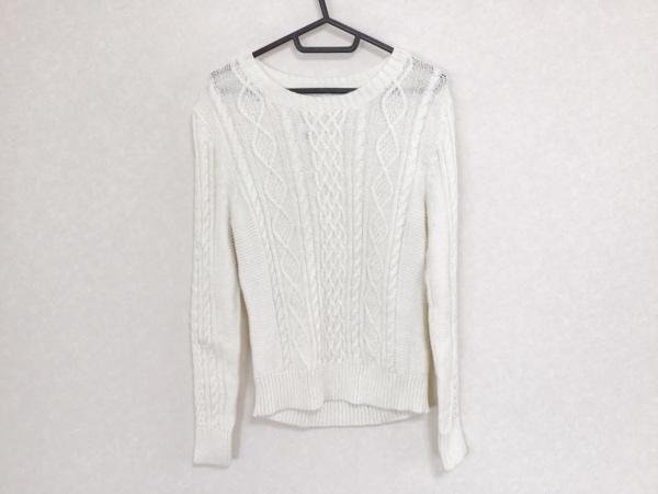 マッキントッシュフィロソフィー 長袖セーター サイズ2 M レディース 白