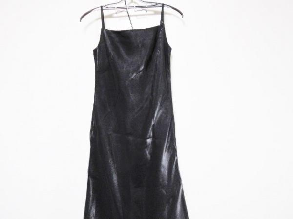 GENETVIVIEN(ジュネビビアン) ドレス サイズ9 M レディース美品  黒 マキシ丈