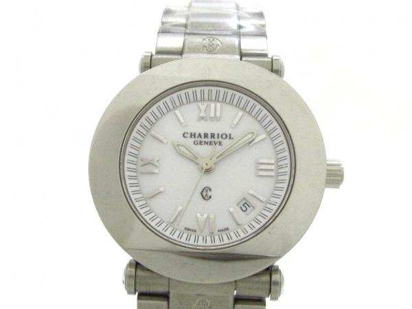 CHARRIOL(シャリオール) 腕時計美品  コロンブス CCR30 レディース 白