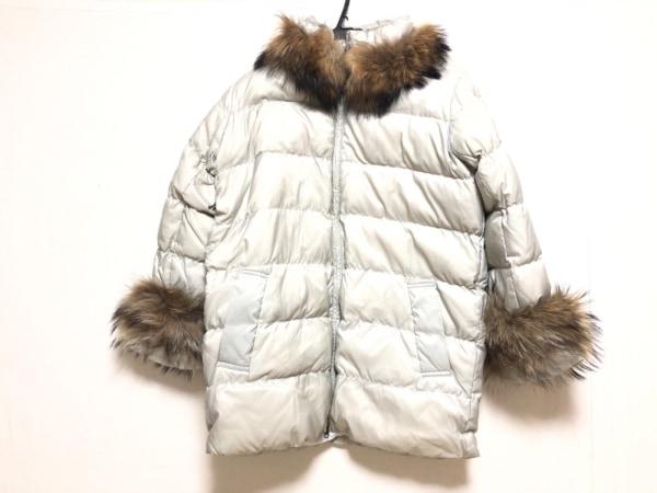 MURUA(ムルーア) ダウンジャケット サイズM レディース ライトグレー 冬物