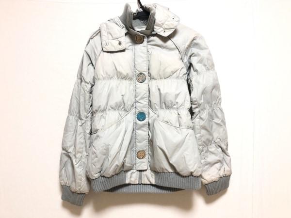 SLY(スライ) ダウンジャケット サイズ2 M レディース ライトグレー 冬物/SLY Jacket