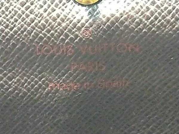 ルイヴィトン 長財布 ダミエ ポシェット・ポルト モネ クレディ N61724 エベヌ
