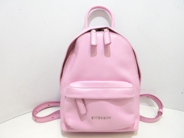 GIVENCHY(ジバンシー) リュックサック - ピンク レザー
