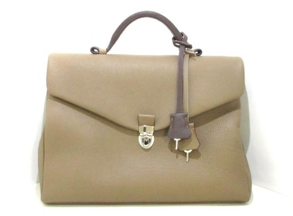 大峡製鞄(オオバセイホウ) ビジネスバッグ美品  ブラウン レザー