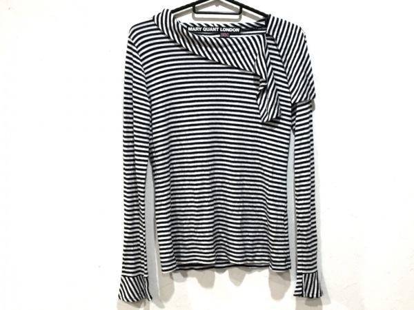 マリークワント 長袖Tシャツ サイズM〔38〕 レディース美品  ボーダー/ラメ