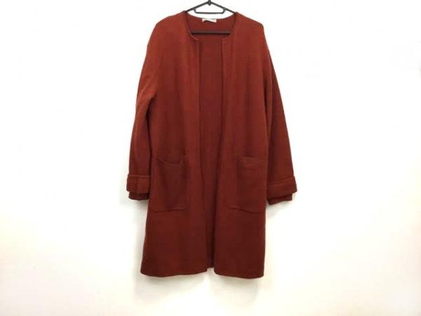 セオリーリュクス カーディガン サイズ38 M レディース美品  ブラウン ロング丈