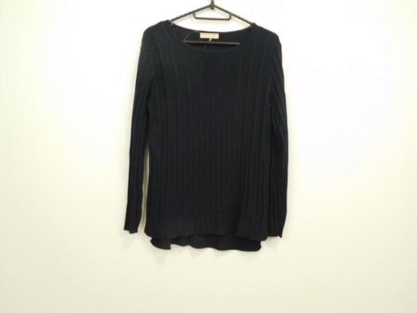 シンクロクロシング 長袖セーター サイズ38 M レディース美品  ネイビー