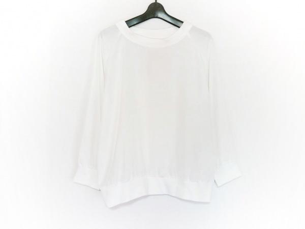 CLANE(クラネ) 長袖カットソー サイズ36 S レディース美品  白