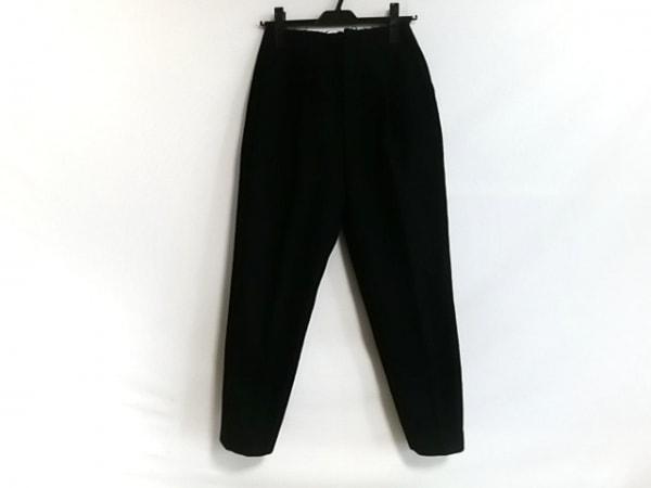 オープニングセレモニー パンツ サイズS レディース美品  黒 切りっぱなし加工
