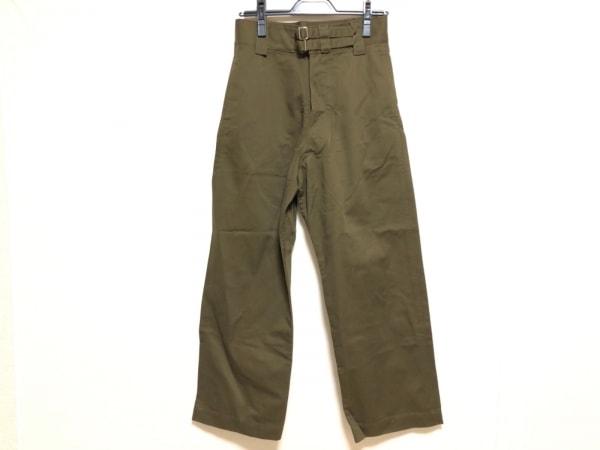 トリココムデギャルソン パンツ サイズS レディース ダークグリーン