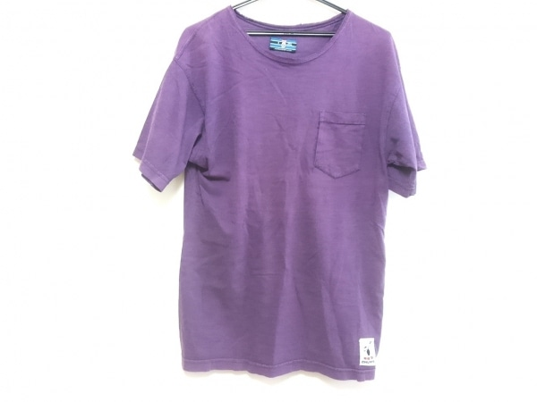 CHUMS(チャムス) 半袖Tシャツ サイズS メンズ パープル
