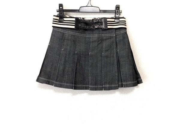 バーバリーブルーレーベル スカート サイズ24 レディース美品  デニム