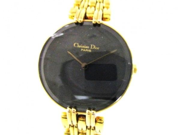 ChristianDior(ディオール) 腕時計美品  バキラ L46.154.3 レディース 黒