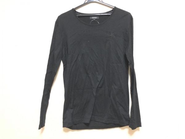 Burberry Black Label(バーバリーブラックレーベル) 長袖Tシャツ サイズ3 L メンズ 黒