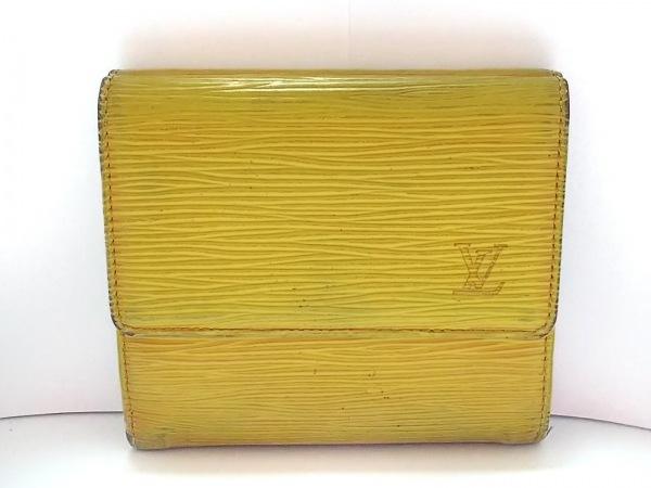 ルイヴィトン Wホック財布 エピ ポルト モネ・ビエ カルト クレディ M63489 ジョーヌ