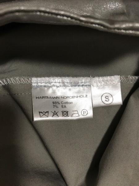ハートマン ワンピース サイズS レディース美品  グレー NORDENHOLZ/変形デザイン