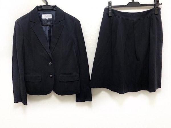 マッキントッシュフィロソフィー スカートスーツ サイズ38 L レディース美品  黒