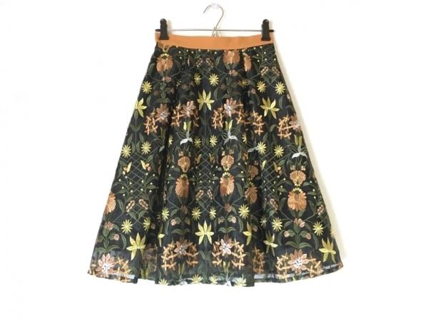 アプワイザーリッシェ ロングスカート サイズ0 XS レディース  花柄/刺繍