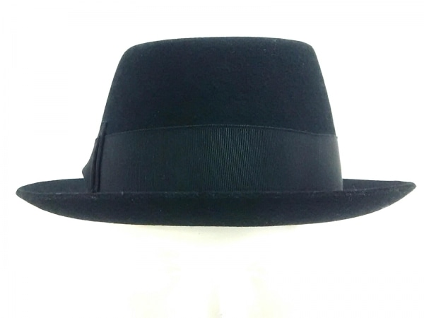 James Lock & Co. Hatters(ジェームスロック) ハット M57新品同様  黒 ウール