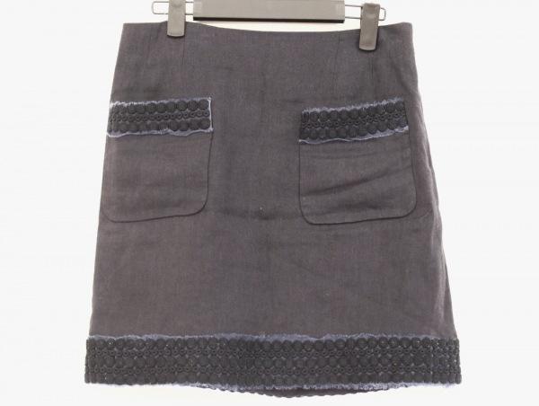 ADORE(アドーア) スカート サイズ38 M レディース美品  ダークネイビー