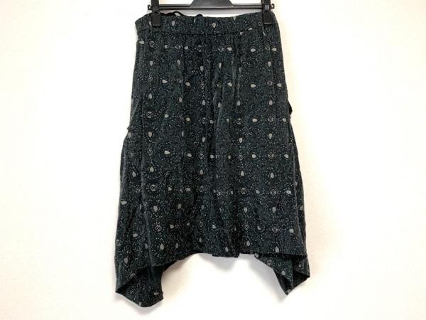 TOGA(トーガ) スカート サイズM レディース ダークグレー×白 変形