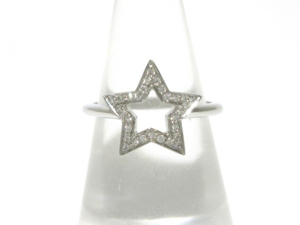 TIFFANY&Co.(ティファニー) リング美品  - Pt950×ダイヤモンド スター
