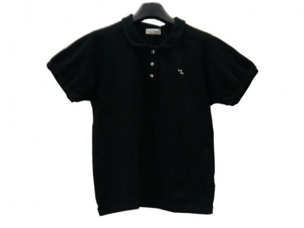 【中古】 サリースコット Sally Scott 半袖ポロシャツ サイズM レディース 黒