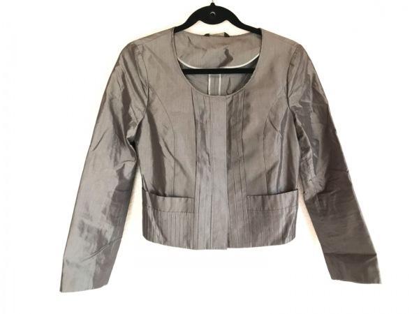DAKS(ダックス) ジャケット サイズ38 L レディース グレー 春・秋物