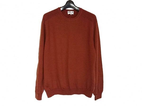 DAKS(ダックス) 長袖セーター サイズL メンズ美品  ブラウン